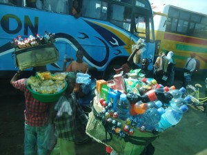 Vendors Bus Station