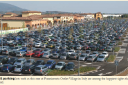 Is this really a sustainable retail development? While developers and retailers alike may think customers require excessive amounts of parking, changes in demographics and consumer preferences may prove otherwise. Image from the ICSC International Outlet Journal, Summer 2009, Volume 5, Number 3 edition.
